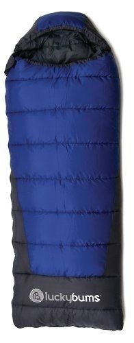 Lucky Bums Youth Explorer 10-Degree Sleeping Bag, Lightweight, Cold Weather, by Sleeping Bag (Image #1)
