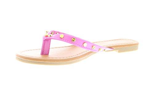 isaac-mizrahi-womens-lucia-gold-plated-nailhead-stud-thong-sandal-flip-flops-7-pink