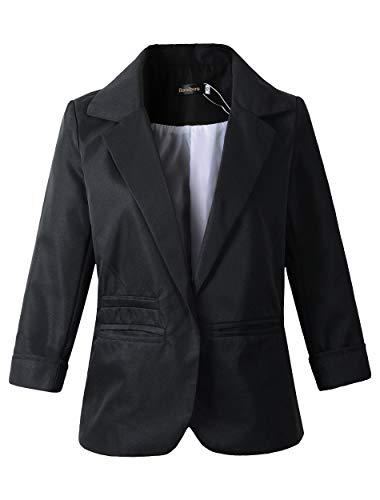 Women's Boyfriend Blazer Tailored Suit Coat Jacket (XL, ()