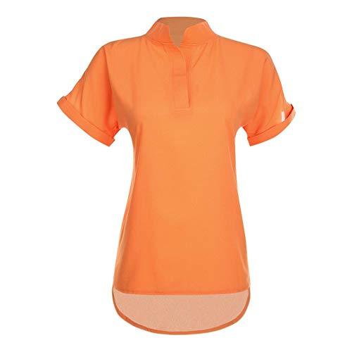 2xl Aediea Chemisier Femme Aediea Aediea Orange Femme Orange 2xl Chemisier BXgHnz