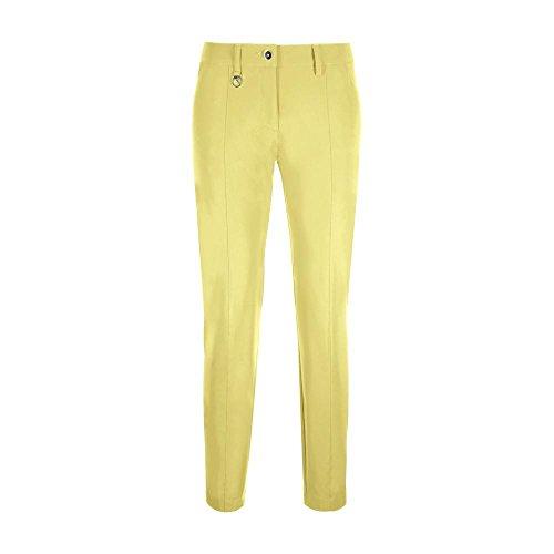 Spring Chervò Trousers Singer White Mujer Bonitas Summer 61827 Yellow qFExErw6