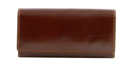 Women's leather checkbook wallets