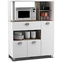 Abitti Mueble Auxiliar de Cocina en Color Blanco