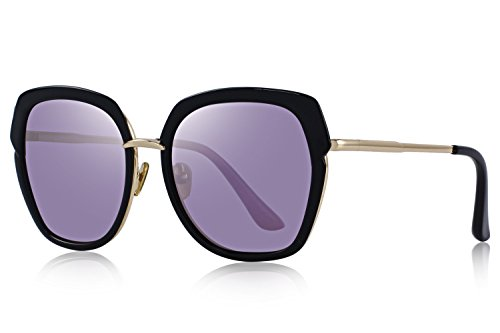 OLIEYE Vintage Women's Polarized shield Frame Sunglasses O6371