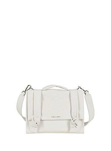 Größe porter à femme pour l'épaule à Sac Blanc Marke Weiß Orciani xqTUwv4Ic