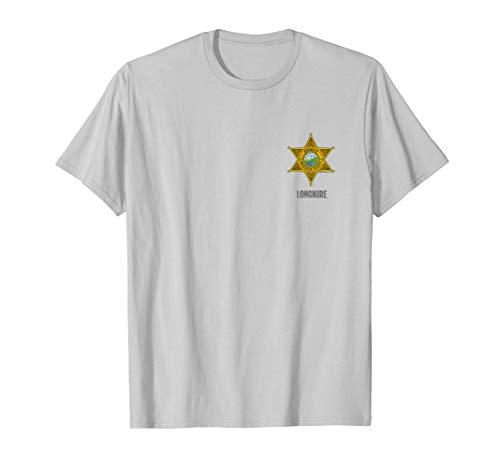 Longmire Badge T Shirt (Major Johnson T-shirt)