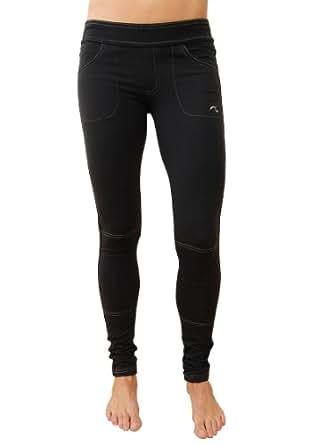Impact Fitness - Fleece Lined Teton Jegging-XX Small (Black)