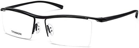 [Sponsored] SUNBRAVE Pure Titanium Semi-rimless Business Glasses Frame Prescription Optical Eyeglasses