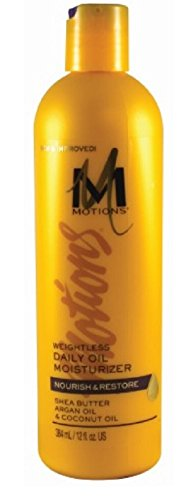 Motions Lotion Hair (Motions Nourish & Restore Weightless Daily Oil Moisturizer, 12 Ounce)