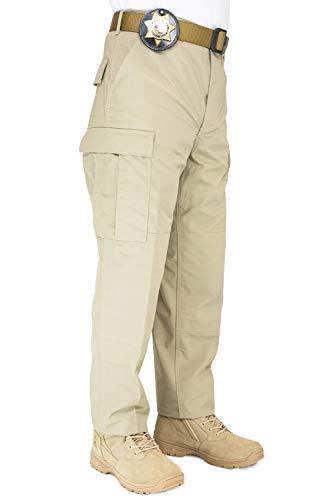 (First Class Rip-Stop Tactical BDU Pants Khaki XL (39-42))