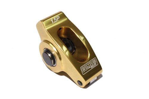 COMP Cams 19060-1 Ultra-Gold Aluminum Roller Rocker Arm with 1.5 Ratio and 7/16