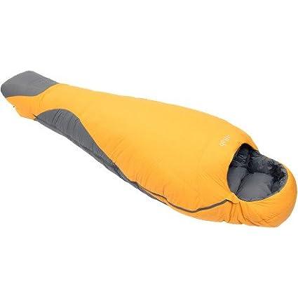 Rab Andes 800 - Saco de dormir Sahara Talla:L/Hand Zip
