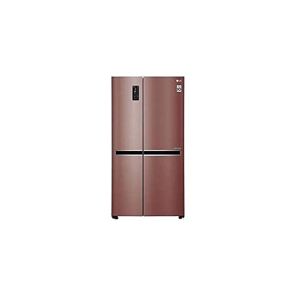 LG 687L Wi - Fi Inverter Frost-Free Side-by-Side Refrigerator (GC-B247SVZV, Amber Steel) 2021 July Side by Side French Door Refrigerator: Premium refrigerators with auto-defrost function to prevent ice build-up 687 Ltr. capacity: Suitable for the daily requirements of a nuclear family with 5 or more members   Freezer capacity: 265L, Fresh food capacity: 422L Manufacturer Warranty: 1 year on product, 10 years on compressor