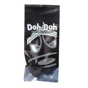 Shorty's Black Doh-Doh Bushings 100a Rock Hard For Skateboards & Longboards