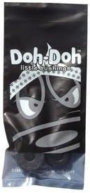 Shorty's Black Doh-Doh Bushings 100a Rock Hard (2 Sets) For Skateboards & Lo