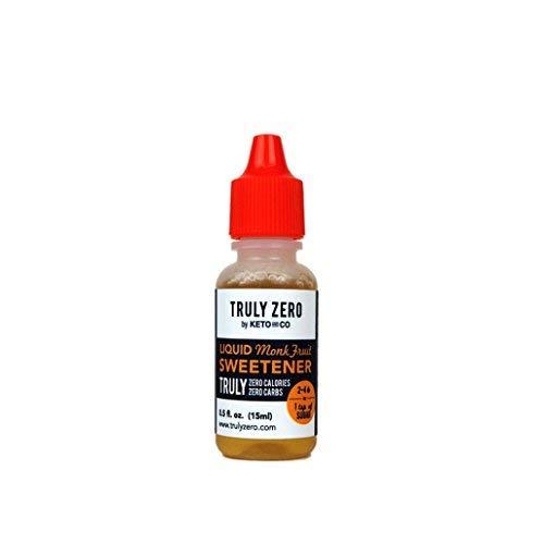 Truly Zero Liquid Sweetener (Monk Fruit) (Liquid Monk Fruit)