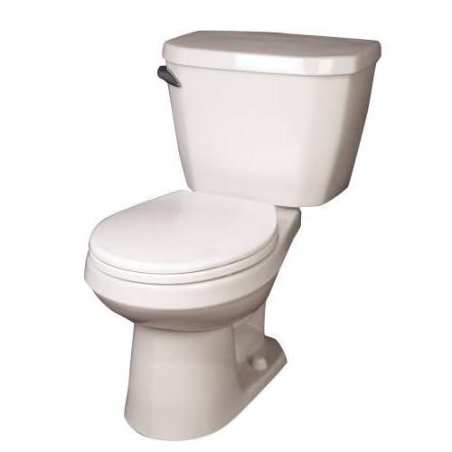 "free shipping GERBER PLUMBING GWS2859025 2473746 1.28 Gpf 12"" Rough-In Viper Toilet Tank, Bone"