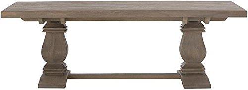 """Aldridge Coffee Table, 18Hx55Wx28""""D, ANTIQUE GREY"""