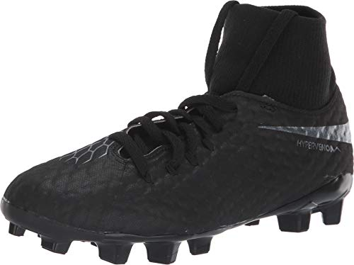 NIKE Hypervenom 3 Academy DF FG Junior (Kids) - Black (3)