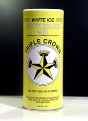 Triple Crown White Ice Table Shuffleboard Powder Wax-SIX PACK by Triple Crown White Ice Shuffleboard Powder Wax