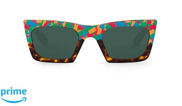 Mr. Boho Tomigaya Confetti, Gafas de sol para hombre y mujer ...