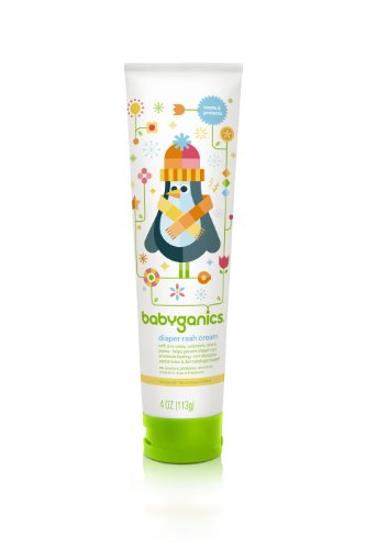Babyganics Diaper Rash Cream, 4 oz Packaging May Vary