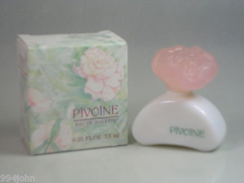Yves Rocher Pivoine Miniature Eau De Toilette Perfume .25oz/7.5ml by Yves Rocher ()