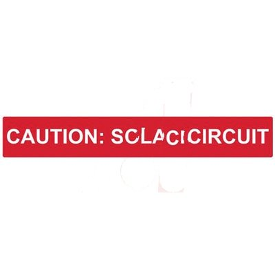 "HellermannTyton 596-00249 Pre-Printed Solar Marker, Reflective, Non-adhesive, Coiled, ''CAUTION: SOLAR CIRCUIT'', 4"" X 2"", Vinyl, Red, 25/pkg by Hellermann Tyton"