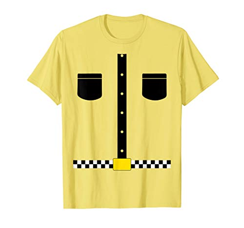 Taxi Driver Costume Tee Shirt Funny Gag joke]()
