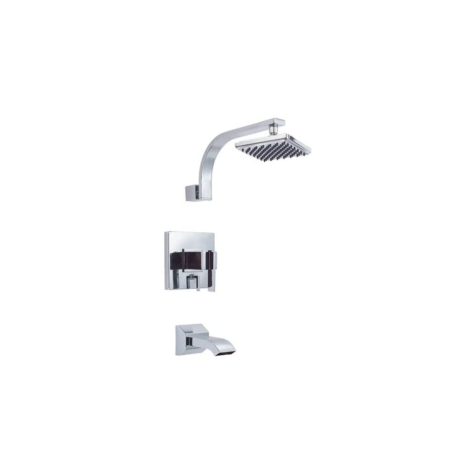 Danze D500044 Sirius Single Handle Tub and Shower Faucet, Chrome
