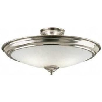 this item 2 light semiflush semi flush ceiling light fixture