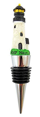 Key West Lighthouse Wine Bottle Stopper Key West Souvenir 4 Inch