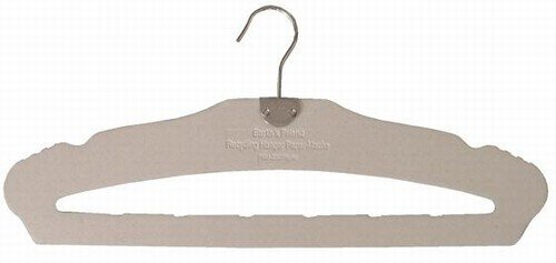 Earth's ''Friend'' Recycled Hanger w/Pant Bar by ClosetHangerFactory