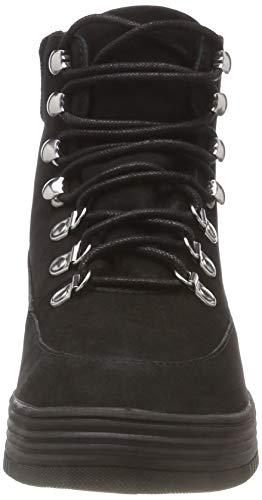 Boot Bianco Hiking 102 Bottines Noir Femme black Warm wEvE6