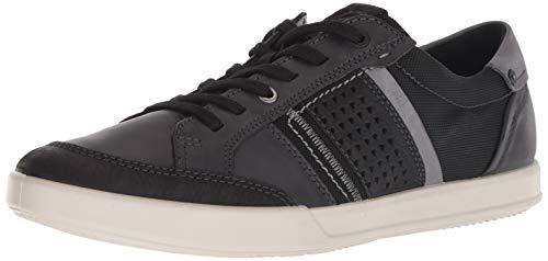ECCO Men's Collin 2.0 Casual Tie Sneaker, Nubuck/Black, 44 M EU (10-10.5 US) ()