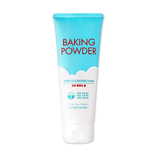 Etude house Baking Powder Pore Cleansing Foam 160ml (2016) (2 Pack) EC34-Porefoam-PK2