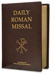 - Daily Roman Missal: Complete with Readings in One Volume with Sunday and Weekday Masses ... and the Order of Mass in Latin and English on Facing Pages and Devotions and Prayers for Use Throughout the Year