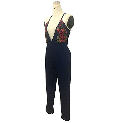 Neck Sz Femmes Jeans Discothque V Slings Print 44Uq1