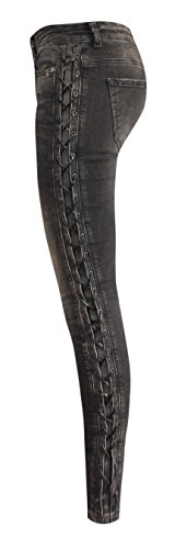 Jeans Black Taille W9047 Unique Zhrill Femme RnT8pxa1