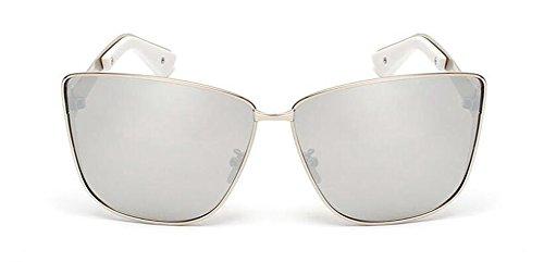 de du soleil en rond Lennon retro vintage de polarisées métallique Comprimés Mercure cercle lunettes style inspirées FqdIFw