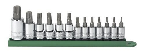 GEARWRENCH 80725 13 Piece Torx Tamper Socket Set ()