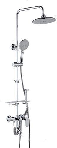 4機能を搭載フル銅シャワーヘッド調整可能なシャワーロッドの壁を設定浴室のシャワー及び風呂蛇口