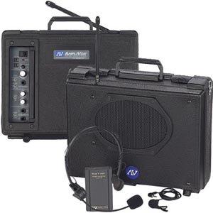 Wireless Audio Portable Buddy® - Wireless Lapel & Headset - Amplivox Sw222 Audio Wireless