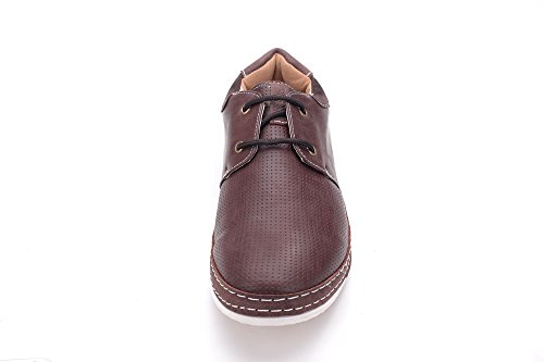 beverly st Mens Dress Shoes (Sanger 01) Brown cPn40