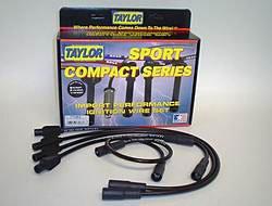 Taylor Cable 77083 Spiro-Pro Black Spark Plug Wire Set
