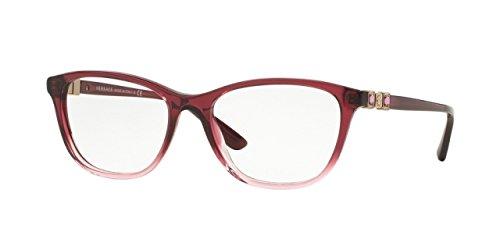 Versace VE3213B Eyeglass Frames 5151-52 - Tr Marc/tr Pink VE3213B-5151-52