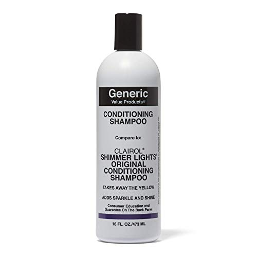 Generic Value Products Conditioning Shampoo Compare to Clairol Shimmer Lights from Generic Value Products