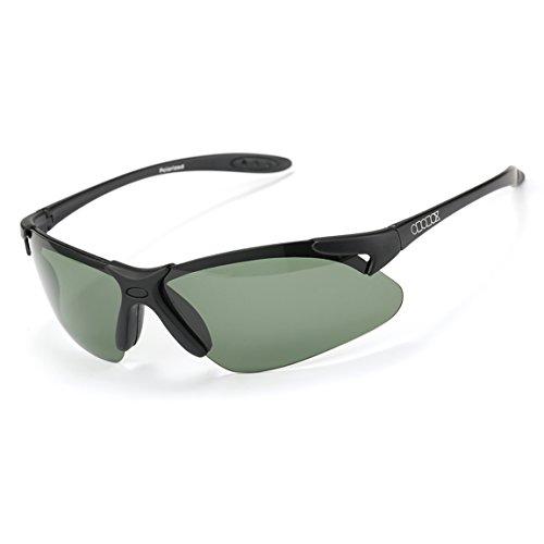 ODODOS Polarized Sunglasses for Driving Cycling Baseball Running Fishing UV100 Unbreakable Frame - Sunglasses Crossbow
