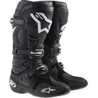 Alpinestars Tech 10 Men's Off-Road Motorcycle Boots - Black