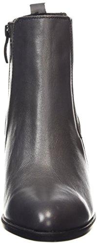 Tamaris 25329 - botines chelsea de cuero mujer gris - gris (graphite 206)